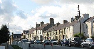 Llanrug Human settlement in Wales