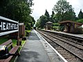 The up platform, Crowcombe Heathfield - geograph.org.uk - 1708918.jpg