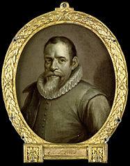 Portrait of Theodorus Velius, Writer of the Chronicle of Horn