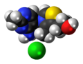 Thiamine chloride 3D spacefill.png