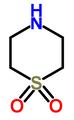 Thiomorpholine dioxide.png