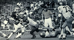 Thom Darden - Darden (No. 35) from 1972 Michiganensian