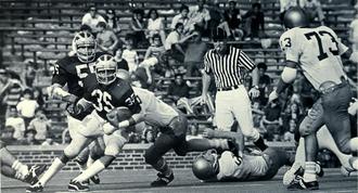 Thom Darden - Darden (No. 35) from 1972 Michiganensian