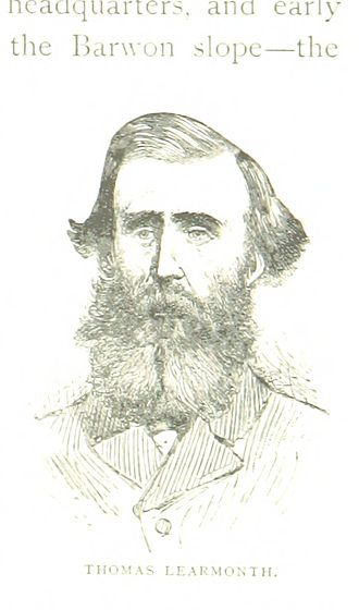 Thomas Livingstone Learmonth - An 1888 illustration of Learmonth