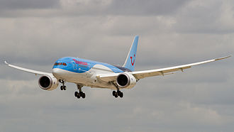TUI Travel - Image: Thomson B787 Dreamliner G TUIB (9129161000)