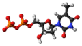 Thymidine diphosphate anion 3D ball.png