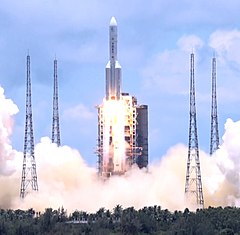 Tianwen-1 launch 04 (cropped).jpg