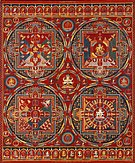 Tibetan, Central Tibet, Tsang (Ngor Monastery), Sakya order - Four Mandalas of the Vajravali Series - Google Art Project.jpg