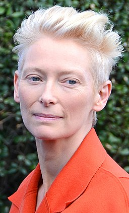 Tilda Swinton at the Deauville Film Festival