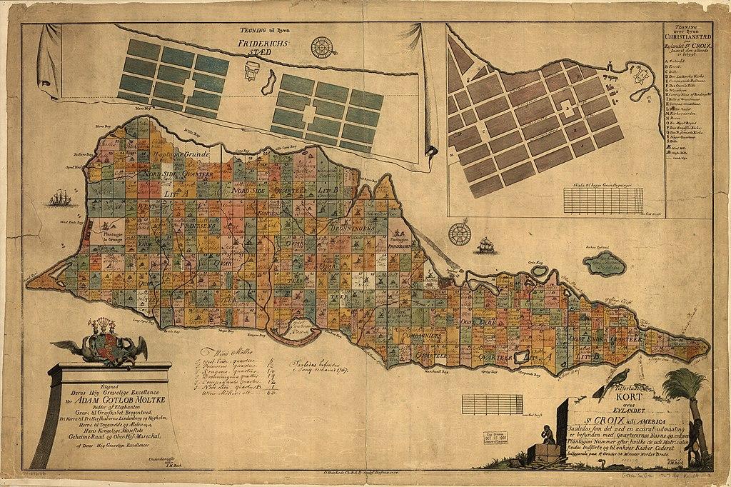 File Tilforladelig Kort Over Eylandet St Croix Udi America