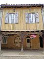Tillac - Maisons à colombages de la rue principale - côté nord -6.JPG