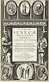 Titelpagina voor L. Annaei Senecae Philosophi Opera, 1615 L. Annaei Senecae Philosophi Opera (titel op object), RP-P-OB-52.466.jpg