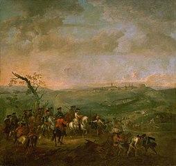 Belagerung von Prag durch die österreichische Armee unter dem Oberbefehl des Großherzogs Franz Stephan von Lothringen