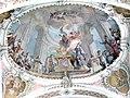 Toblach - Pfarrkirche - Deckenfresco 1 Zacharias im Tempel.jpg