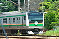 Tokaido line with 120th headmark (3603882107).jpg
