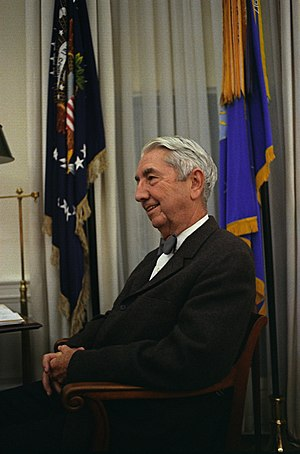 Tom C. Clark - Clark in the Oval Office in 1967 after retiring from the Supreme Court.