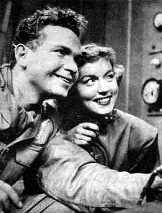 Frankie Thomas - Thomas as Tom Corbett in Tom Corbett, Space Cadet, 1951.