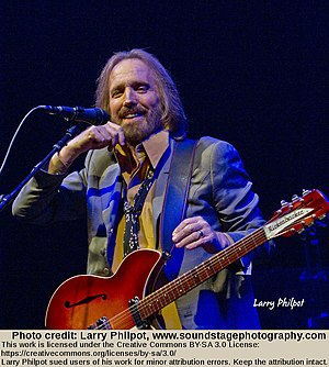 Super Bowl XLII - Tom Petty and the Heartbreakers (Tom Petty pictured) played during the halftime show.