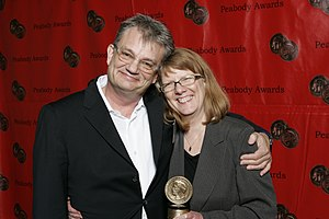 Michael Tilson Thomas - Tom Voegeli and Sarah Lutman at the 67th Annual Peabody Awards for The MTT Files