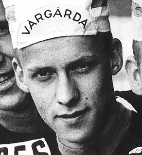 Tomas Pettersson Swedish cyclist