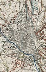 File:Topographical map of Ghent, 1903-1922, detail centre.jpg