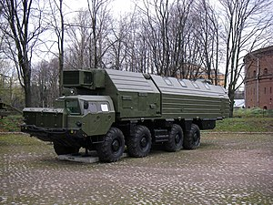 RT-2PM2 Topol-M - Combat Support Vehicle (MOBD) 15V231 of Topol/Topol-M at the Saint-Petersburg Artillery Museum