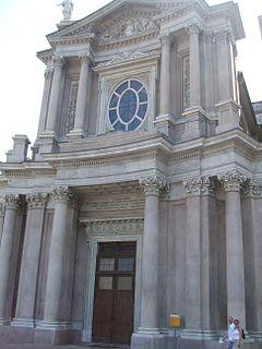 San Carlo Borromeo, Turin Church in Italy