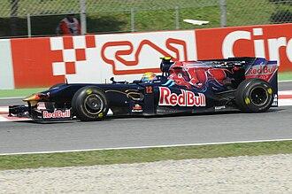 Sébastien Buemi - Buemi during free practice at the 2009 Spanish Grand Prix.