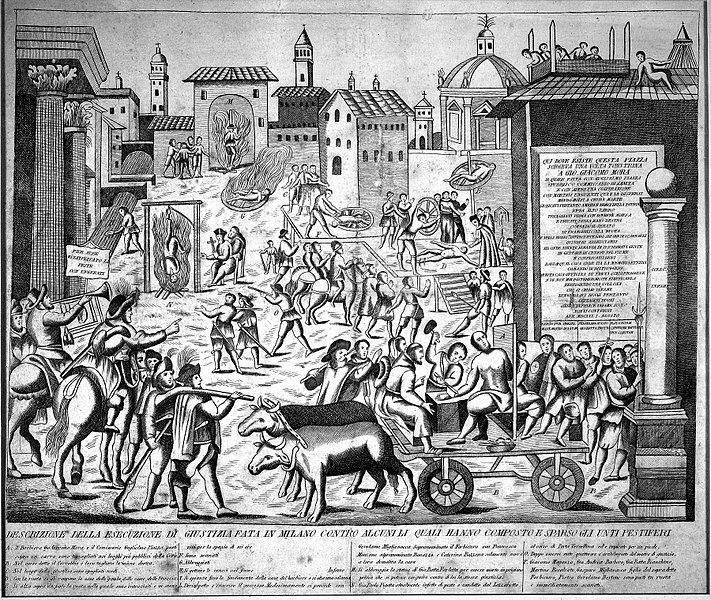 File:Torture during the plague epidemic at Milan, 1630. Wellcome M0000790.jpg