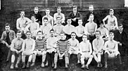 The Tottenham Hotspur first and second teams in 1885