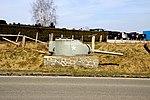Tourelle char route de Wiltz à Bastogne.JPG