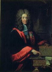Portrait du chancelier Louis Phélypeaux, comte de Pontchartrain (1643-1727)