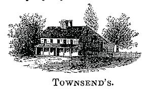 "Raynham Hall Museum - ""Townsend House"" as it appeared around the time of the American Revolution"