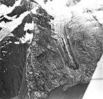 Toyatte Glacier, hanging glacier terminus, August 27, 1969 (GLACIERS 5903).jpg