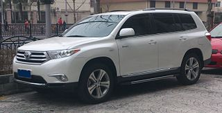 Toyota Highlander XU40 facelift 02 China 2013-02-25
