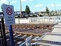 Track Crossing near Maplewood Metrolink Stop and Maplewood Commons (4671970155).jpg