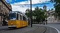 Tram, Kossuth Square, Hungary - Budapest (28414942971).jpg