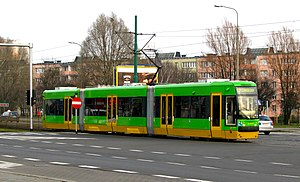 H. Cegielski – Poznań - FPS 118N PUMA tram of HCP-FPS Poznań