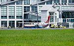 TransAsia Airways ATR 72-212A B-22821 Parked at Hualien Airport 20160813.jpg