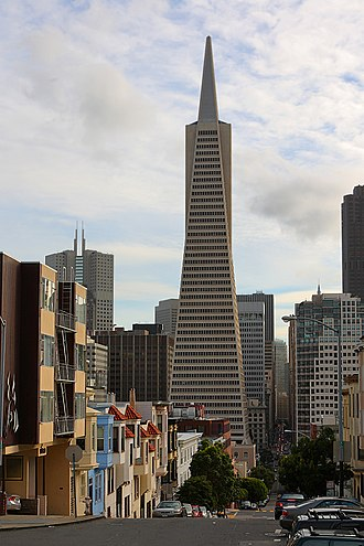 Transamerica Corporation - The Transamerica Pyramid in San Francisco