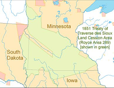 Treaty of Traverse des Sioux 1851