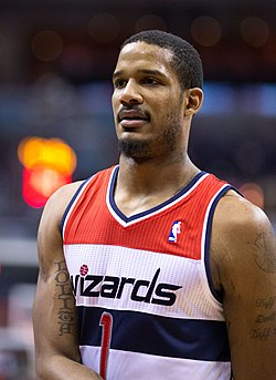 Ariza, Washington Wizards formasıyla (2013)