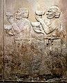 Tribute bearers from Urartu. From Khorsabad, Iraq, c. 710 BCE. Iraq Museum.jpg
