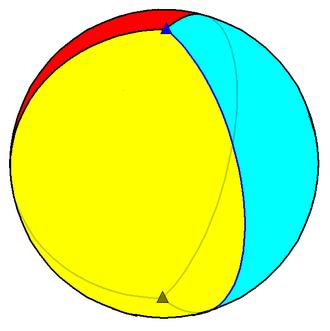 Hosohedron - Image: Trigonal hosohedron