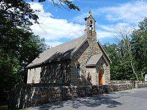 Foster Township, Schuylkill County, Pennsylvania - Image: Trinity Chapel, Buck Run PA 02