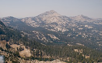 Boise National Forest - Trinity Mountain is the second highest point in the forest.