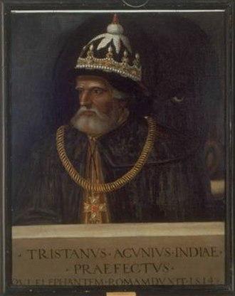 Tristão da Cunha - Image: Tristano da Acugna (Giovio Series)