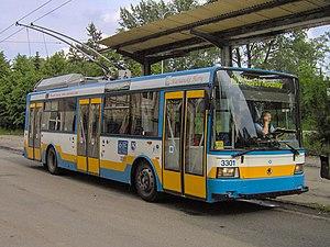 Dopravní podnik Ostrava - Ostrava trolleybus.