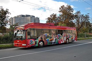 Trolleybus system of Belgrade, Serbia