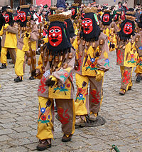 Fools Meeting or Parade, Messkirch, Germany